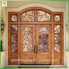 main doors teak raw wood main door design entrance doors with iron grill buy