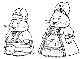 max and ruby coloring pages wecoloringpage