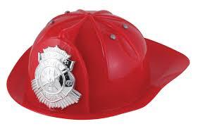 amazon com toysmith tsm669 f fireman hat toys u0026 games