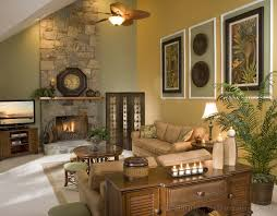 Decorating Living Room With Stone Fireplace Swanky Living Room Decoration Ideas With Chic Stone Element