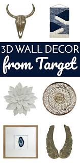 3D Wall Decor From Tar