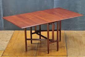 Swedish Mid Century Bruno Mathsson Teak Gateleg Dining Table - Gateleg kitchen table