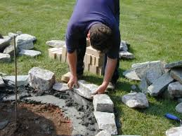 how to set stones for a fire pit how tos diy