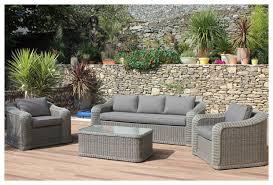canape jardin resine marquises salon cossus et confortable 5 places jardin center fr