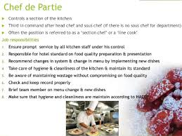 sous chef de cuisine definition kitchen dep