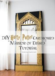 delicious reads diy harry potter cardboard