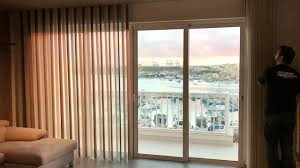 harmonia sheer vertical blind youtube