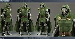 Dr Doom Mask Doom Armory For Randy Statue M A R V E L S