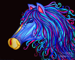 colorful horse pictures 224 coloring page