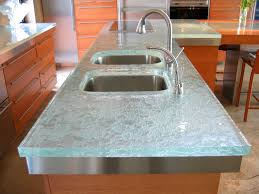 Used Kitchen Cabinets Ontario Bathroom Design Delightful Recycled Glass Countertops On Wooden