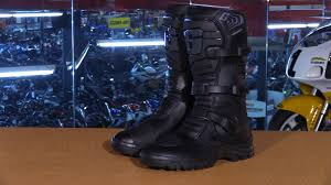 mc boots gaerne g adventure motorcycle boots review youtube