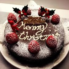 christmas chocolate cake decorations