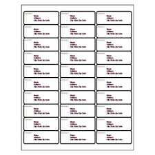 Avery Template 30 Labels Per Sheet by Avery 30 Per Page Avery Address Labels Free Template 2015