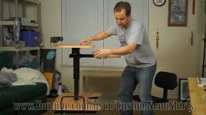 Stand Up Sit Down Desks by Balt Hi Lo Review Assembly Modification Mod And Caveman Unboxing