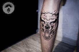 ghost tattoos ghost wolf tattoo best tattoo ideas gallery