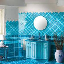 blue tiles bathroom ideas bathroom design glass standing small services spaces interiors