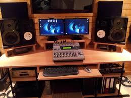 bureau home studio occasion mobilier home studio musique de professionnel pour homme dukec me