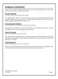 Office Assistant Job Description Resume by Administrative Assistant Job Description Resume Resumes Sample