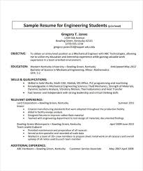 Sample Resume For Fresher Mechanical Engineering Student by 13 Fresher Resume Templates In Word Free U0026 Premium Templates