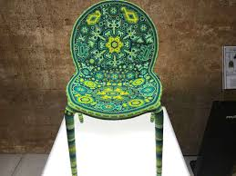 Mexican Chairs Mexican Textile Covered Chairs On View Today At Cistern Houston