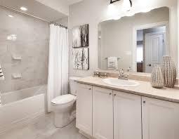 model bathrooms model homes transitional bathroom ottawa by tartan homes