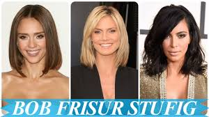Bob Frisuren Undone by Coole Bob Frisuren Stufig Geschnitten