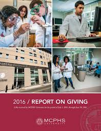Walgreens Pharmacy Manager Salary Mcphs University 2016 Report On Giving By Massachusetts College Of