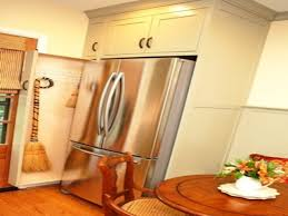 laundry in kitchen ideas narrow pull out broom closet