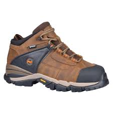 england timberland leather boots brown pro 4 inch hyperion xl at