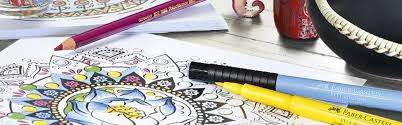 coloring books adults faber castell