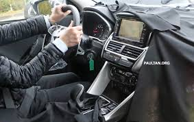 mitsubishi attrage 2016 interior spyshots new mitsubishi asx including interior