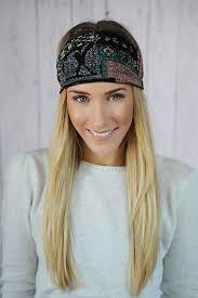 bohemian headbands floral wrap headband hair bands boho accessories