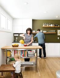 photo 1 of 20 in 20 modern home eat in kitchens from a couple