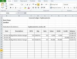 Microsoft Excel Accounting Template 8 Best Accounting Templates Images On Accounting