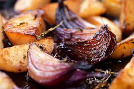 Oven Roasted Root Vegetables Balsamic - balsamic roasted vegetables with herbs recipe