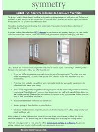 install pvc shutters in homes to cut down your bills pdf pdf