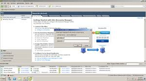 part 4 vmware site recovery manager 5 site pairing