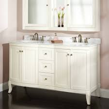 White Bathroom Cabinet Ideas White Double Bathroom Vanity Kitchen U0026 Bath Ideas Amazing