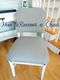 Recover Chair How To Recover A Metal Chair