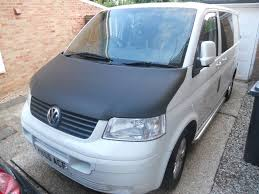 vw transporter t5 complete front end in white l902 paint code in