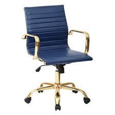 modern faux leather desk chairs allmodern