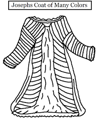 joseph coat of many colors coloring page coloring pages online