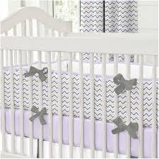 Grey And White Crib Bedding Bedroom Sweet Nursery Bedding Pink And Gray Chevron Crib
