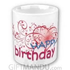 happy birthday design for mug birthday mugs send gifts to nepal mugs giftmandu send gifts
