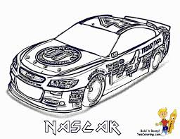 Coloring Ideas by Nascar Coloring Pages Fablesfromthefriends Com
