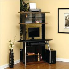 marvellous computer corner desk for home design black tower small with hutch canada