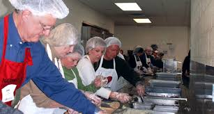 the great thanksgiving banquet at the nashville rescue mission