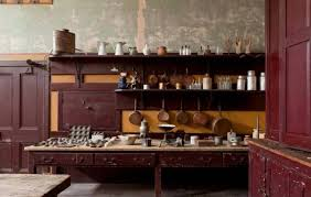 victorian kitchen furniture victorian kitchen with wooden shelves and cabinets create a