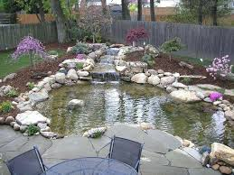 Backyard Pond Ideas Pond With A Cantilevered Deck Garden Pond Building Ideas Backyard