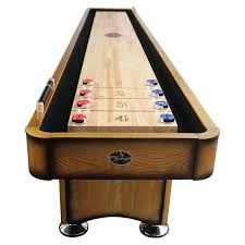 playcraft georgetown shuffleboard table with 1 75 in butcher